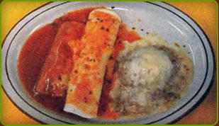 combo 24, Burrito, enchilada & chile relleno
