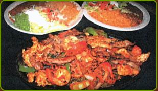 Grilled Cazuelada, plate